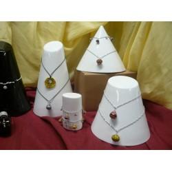Espositore in Ceramica Bianco