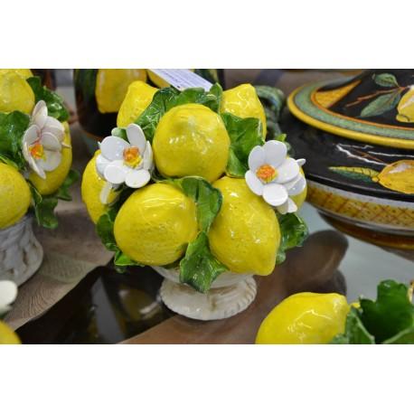 Alzatina Limoni e Fiori Mignon
