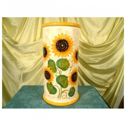 Umbrella Stand Graffito Sunflowers