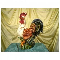 Gallo Medio Decorato Patinato