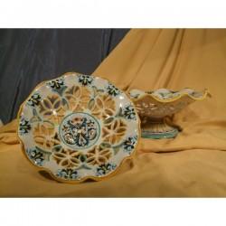Openwork Riser Ricco Deruta Colors Luxury Stone
