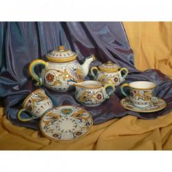 Tea Set x 6 Raffaellesco Luxury