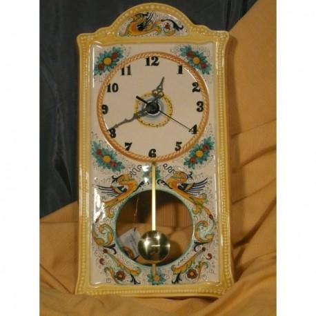 Pendulum Wall Clock Rectangular Classic Stone