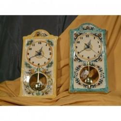 Orologio a Pendolo da Parete Rettangolare Classico Pietra