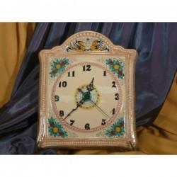 Orologio Quadrato da Parete Classico Pietra