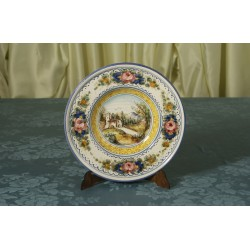 Plate with Flap Landscape