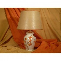 Lamp Poutiche Orange Heart Flowers