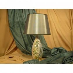 Lampada Siluro Foglie Verdi